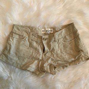 AEROPOSTALE Tan Shorts